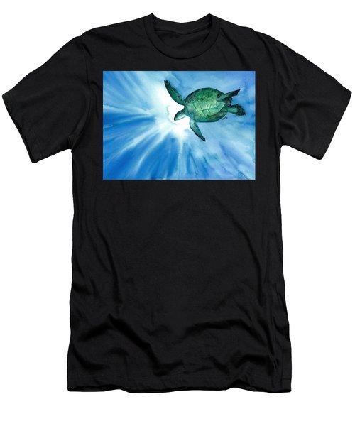 Sea Tutrle 2 Men's T-Shirt (Athletic Fit)