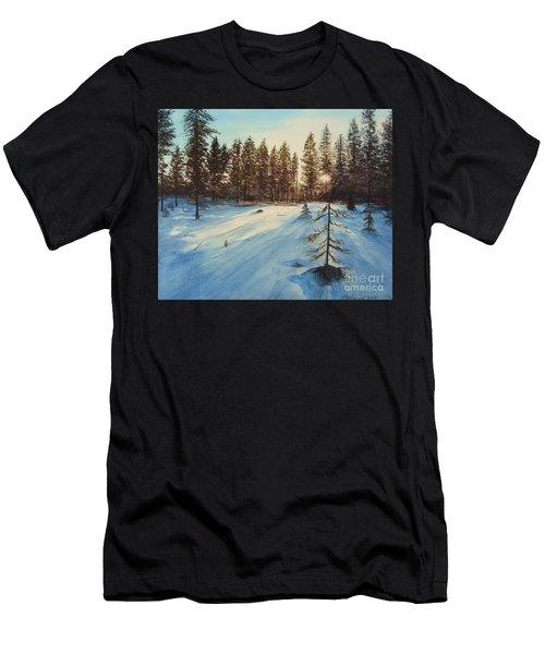Freezing Forest Men's T-Shirt (Athletic Fit)