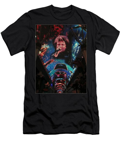 Fremont Street Experience Men's T-Shirt (Athletic Fit)