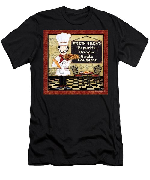 French Chef-a Men's T-Shirt (Athletic Fit)