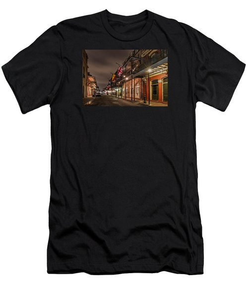 French Quarter Flags Men's T-Shirt (Athletic Fit)