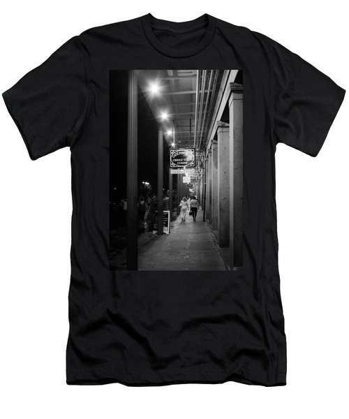 French Quarter Shopping Men's T-Shirt (Athletic Fit)