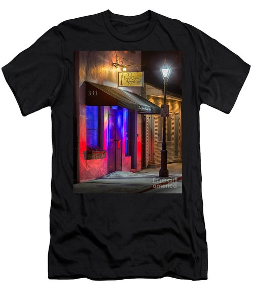 French Quarter Wedding Chapel Men's T-Shirt (Slim Fit) by Jerry Fornarotto