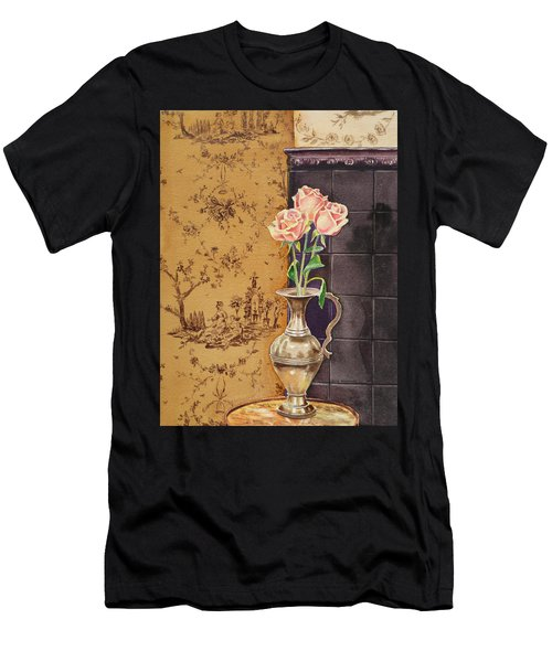 French Roses Men's T-Shirt (Athletic Fit)