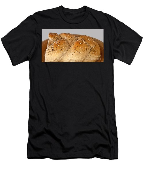 Fresh Challah Bread Art Prints Men's T-Shirt (Athletic Fit)