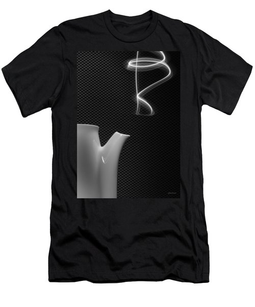 Fresh Pot Of Coffee- Light Painting Men's T-Shirt (Athletic Fit)