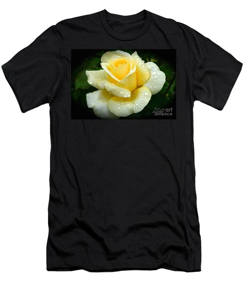 Fresh Sunshine Daydream Rose Men's T-Shirt (Athletic Fit)