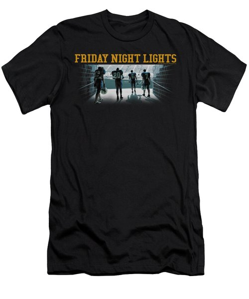 Friday Night Lts - Game Time Men's T-Shirt (Athletic Fit)