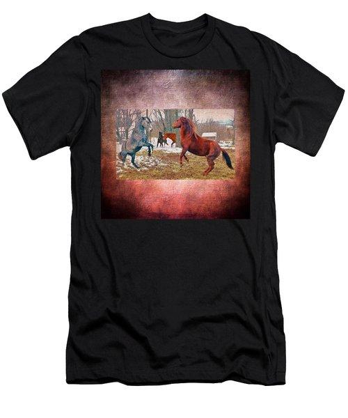Friend Or Foe Men's T-Shirt (Athletic Fit)