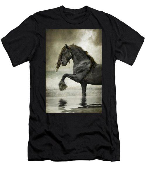 Friesian Surf  Men's T-Shirt (Athletic Fit)