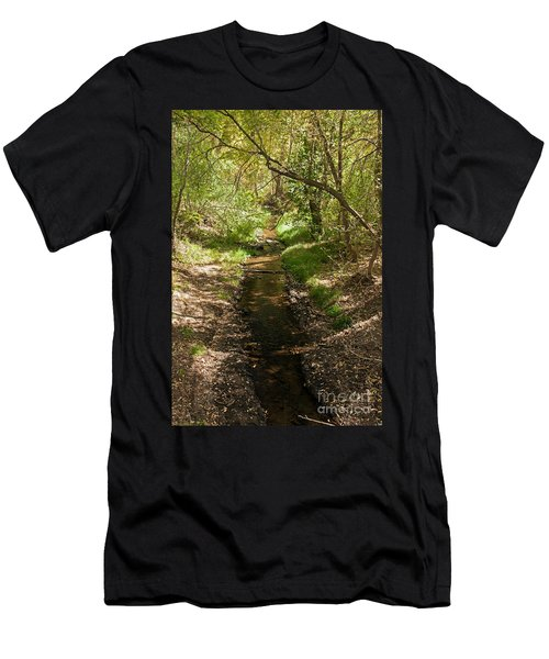 Frijole Creek Bandelier National Monument Men's T-Shirt (Athletic Fit)