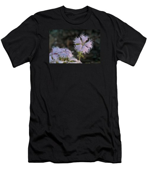 Men's T-Shirt (Slim Fit) featuring the photograph Fringed Catchfly by Paul Rebmann