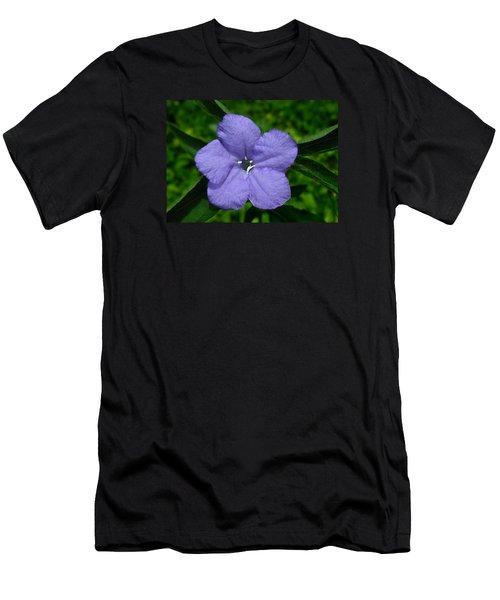 Wild Fringeleaf Ruellia Men's T-Shirt (Slim Fit)