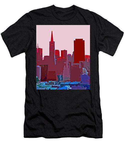 Frisco Skyline Men's T-Shirt (Athletic Fit)