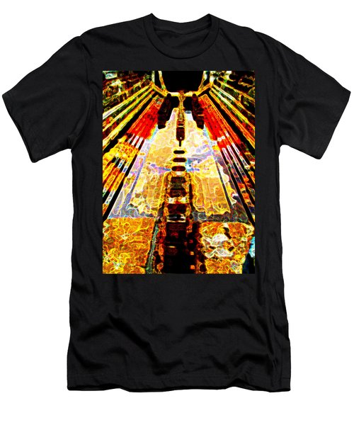 Fritz Lang's Metropolis Yet Stands Men's T-Shirt (Athletic Fit)