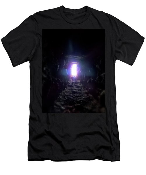 From Dark To Bright Men's T-Shirt (Athletic Fit)