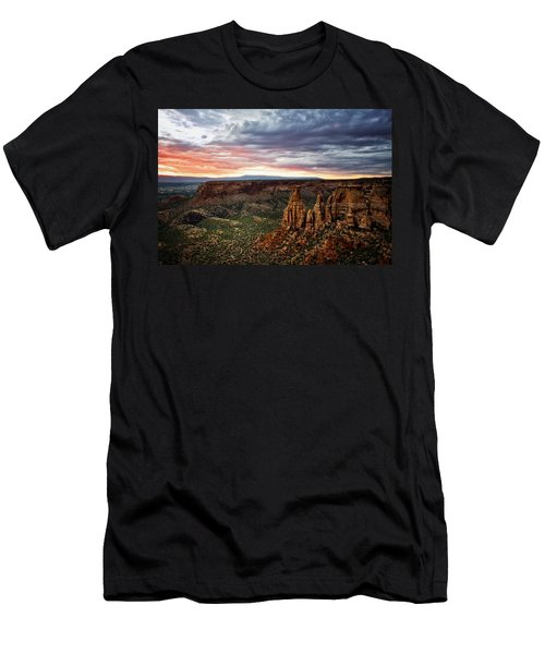 From The Overlook - Colorado National Monument Men's T-Shirt (Athletic Fit)