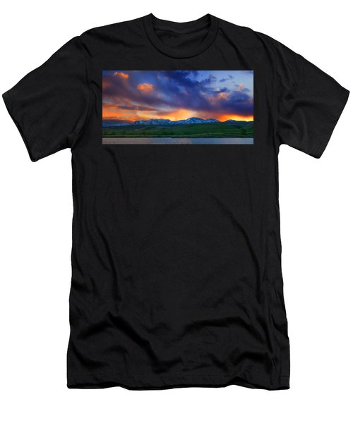 Front Range Light Show Men's T-Shirt (Athletic Fit)