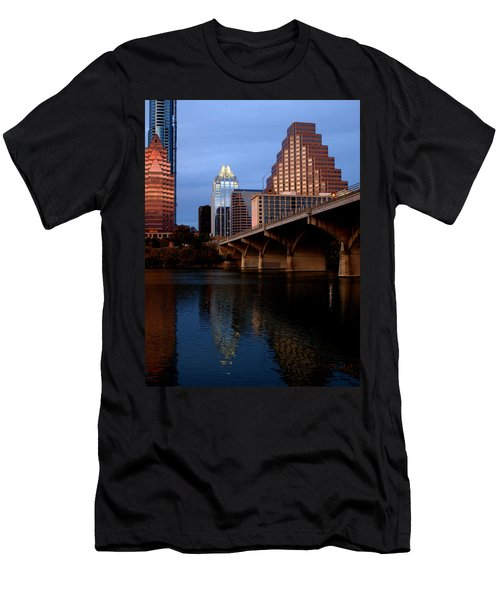 Frost Across The River Men's T-Shirt (Athletic Fit)