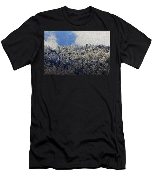 Frost Line 2 Men's T-Shirt (Slim Fit) by Tom Culver