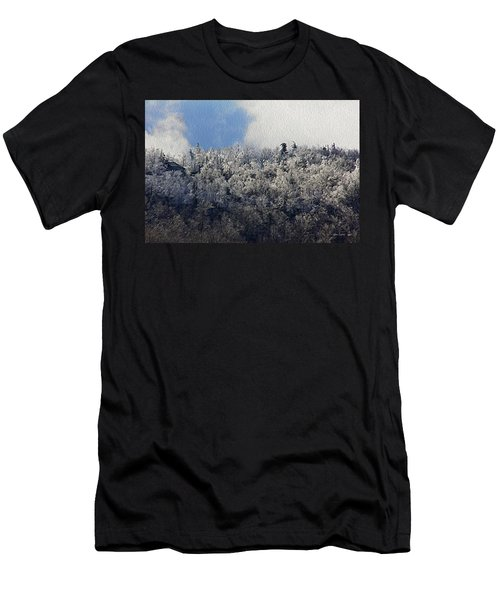 Frost Line Men's T-Shirt (Slim Fit) by Tom Culver