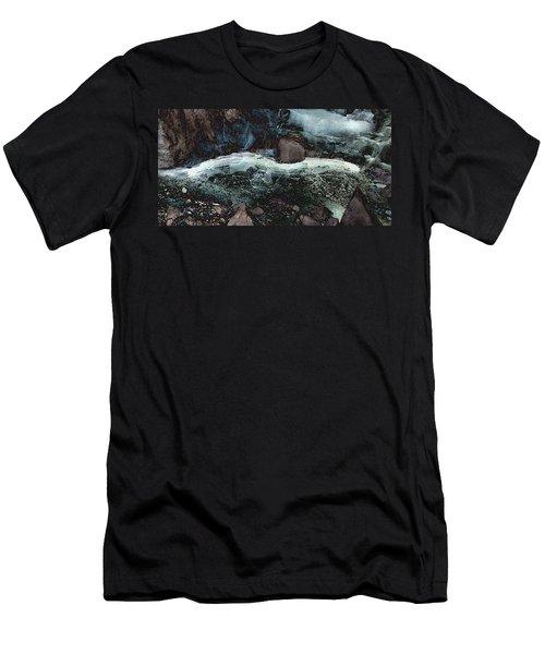 Frozen Cave Men's T-Shirt (Athletic Fit)