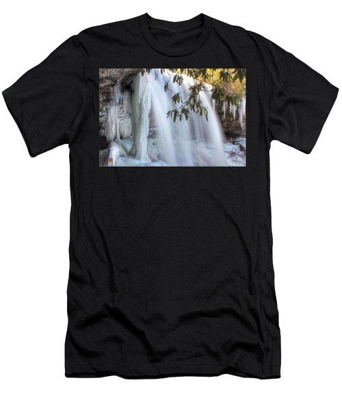 Frozen Dry Falls Men's T-Shirt (Athletic Fit)