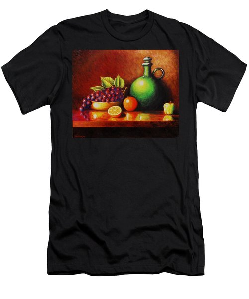 Fruit And Jug Men's T-Shirt (Slim Fit) by Gene Gregory