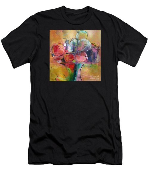 Men's T-Shirt (Athletic Fit) featuring the painting Fruit Bowl No.1 by Michelle Abrams