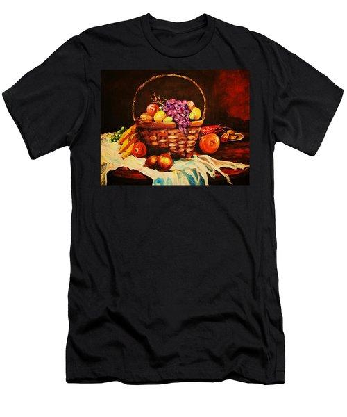 Fruit Wickerbasket Etc. Men's T-Shirt (Athletic Fit)