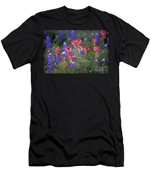 Texas Wildflowers - Fs000926 Men's T-Shirt (Athletic Fit)