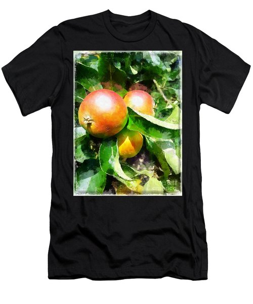 Fugly Manor Apples Men's T-Shirt (Athletic Fit)