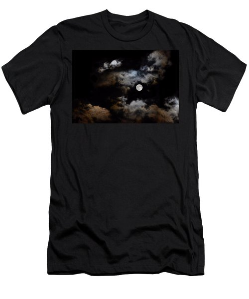 Full Moon After The Storm Men's T-Shirt (Athletic Fit)