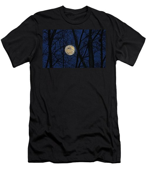 Full Moon March 15 2014 Men's T-Shirt (Athletic Fit)