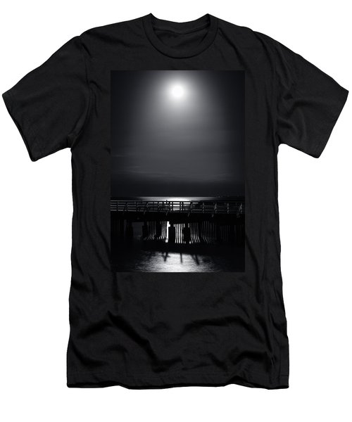 Full Moon Over Bramble Bay Men's T-Shirt (Athletic Fit)