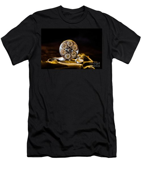 Men's T-Shirt (Slim Fit) featuring the photograph Fully Loaded by Deniece Platt