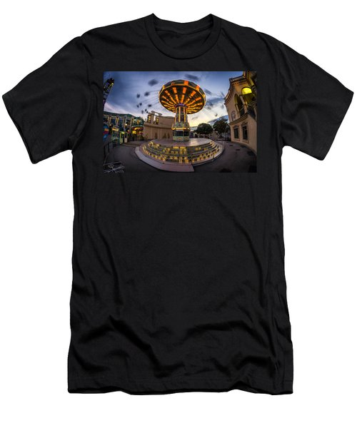 Fun Fair In The Night Men's T-Shirt (Athletic Fit)