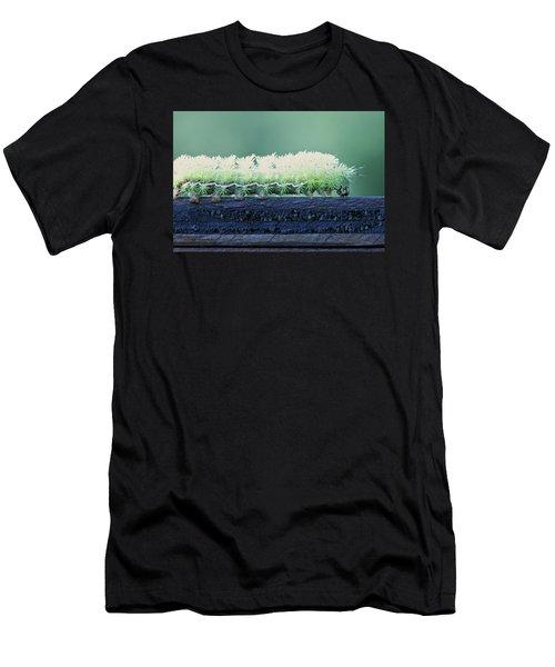 Fuzzy Caterpillar Men's T-Shirt (Athletic Fit)