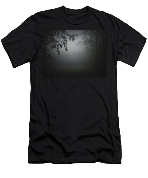 Men's T-Shirt (Slim Fit) featuring the photograph Gaia Cathedral by Cynthia Lassiter