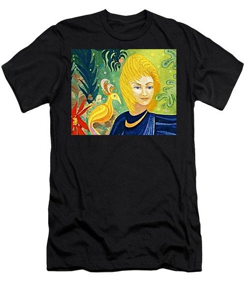 Gaia - Spirit Of Nature Men's T-Shirt (Athletic Fit)