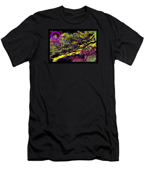 Galactic Luminescence Men's T-Shirt (Slim Fit) by Susanne Still