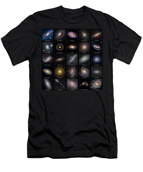 Galaxy Collection Men's T-Shirt (Athletic Fit)