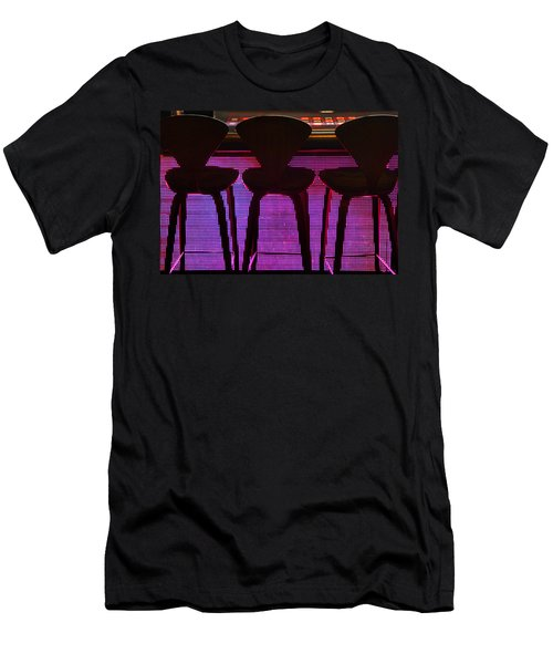 Men's T-Shirt (Slim Fit) featuring the photograph Game Table 2 by Tammy Espino