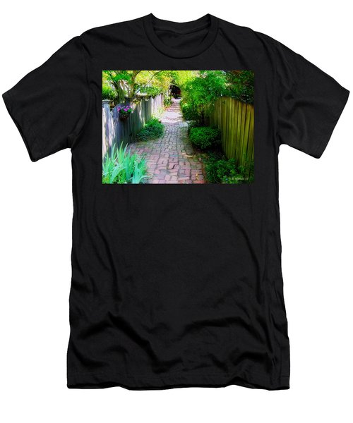 Garden Alley Men's T-Shirt (Athletic Fit)