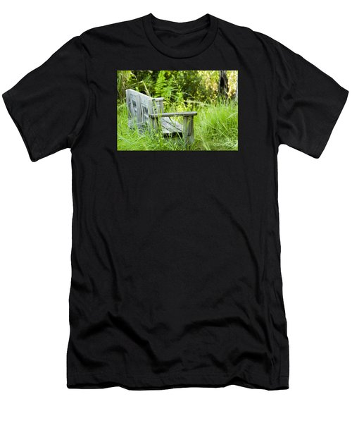 Garden Bench Men's T-Shirt (Athletic Fit)