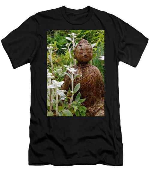 Garden Buddha Men's T-Shirt (Athletic Fit)