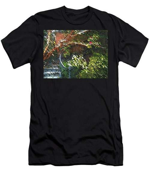 Garden Climb  Men's T-Shirt (Athletic Fit)