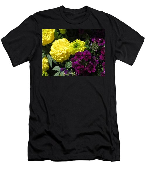 Garden Contrast Men's T-Shirt (Slim Fit)