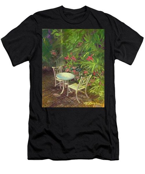 Garden Conversation Men's T-Shirt (Athletic Fit)