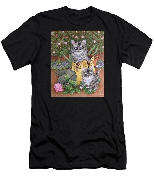 Garden Helpers  Men's T-Shirt (Athletic Fit)